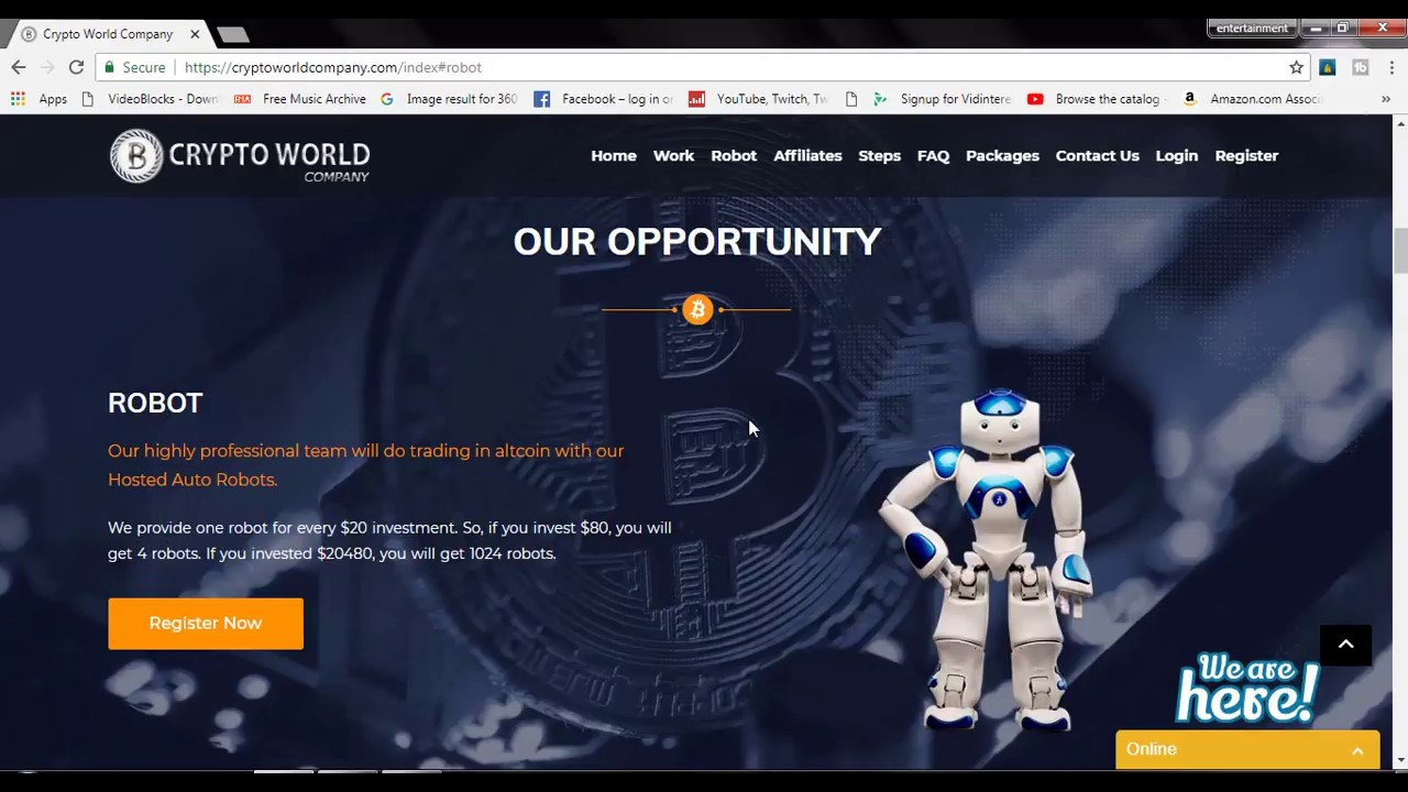 what is crypto wolrd company plan, how to earn money very fast method by  crypto world company