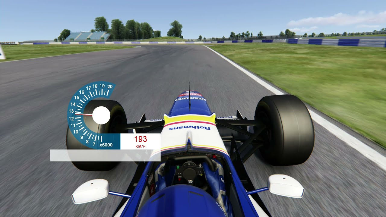 Download Assetto Corsa: Silverstone old layout 1997-2009 (WIP) - New physical road mesh