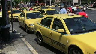 Greek taxis to feel the squeeze of tax hikes