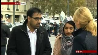 Ahmadi Muslims from Paris Respond to Paris Attacks -  BBC1 Breakfast 16/11/2015