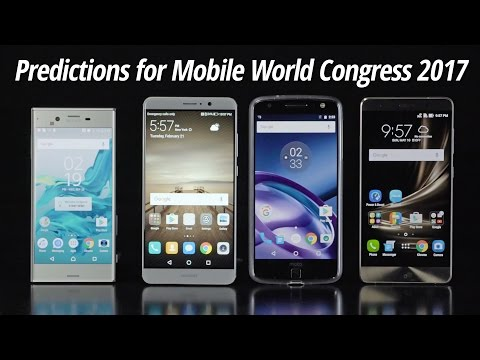 Predictions for Mobile World Congress 2017
