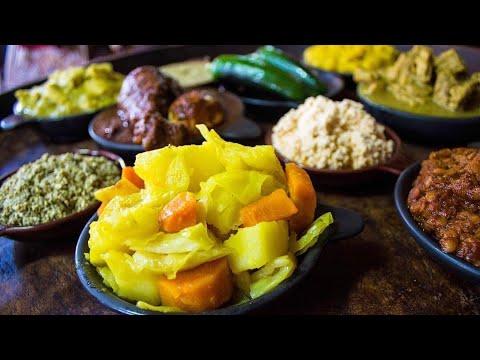 Ethiopian style white cabbage recipe