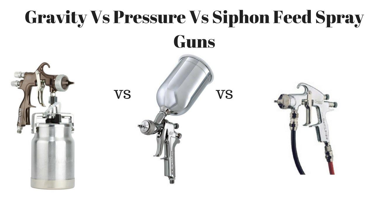 how to clean a siphon spray gun
