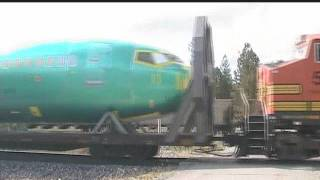 Boeing Train in Idaho
