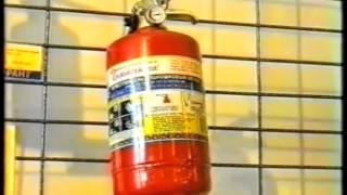 видео Огнетушители: виды и назначение, применение