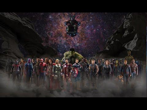 42/67 Персонажей Marvel в Мстители Война Бесконечности.