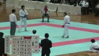 近畿大学 井出vs京都産業大学 荒賀 大将 thumbnail
