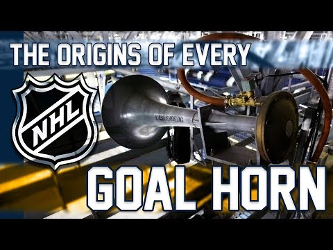 The Origins of Every NHL Goal Horn