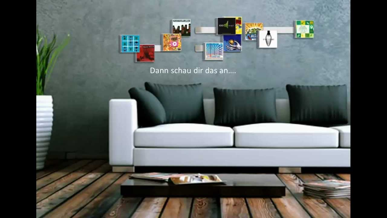 cd wandregale dvd wandregale und bluray wandregale von cd wall youtube. Black Bedroom Furniture Sets. Home Design Ideas