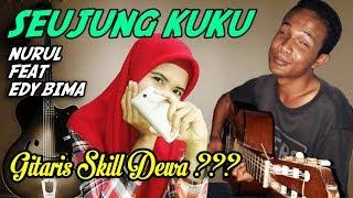 Seujung Kuku Edy feat Nurul Gitaris Bima Tunanetra | Cover Akustik