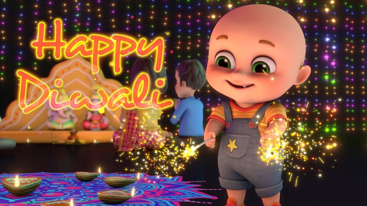 happy diwali from jugnu kids diwali song bobo celebrating diwali