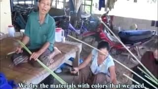 Community-Based Research: Mat Weaving in Phuckpheur village, Laos