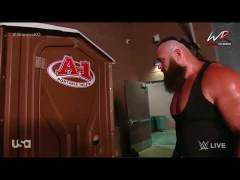 Braun Strowman and Kevin Owens Play Hide and Seek   Strowman Traps Owens