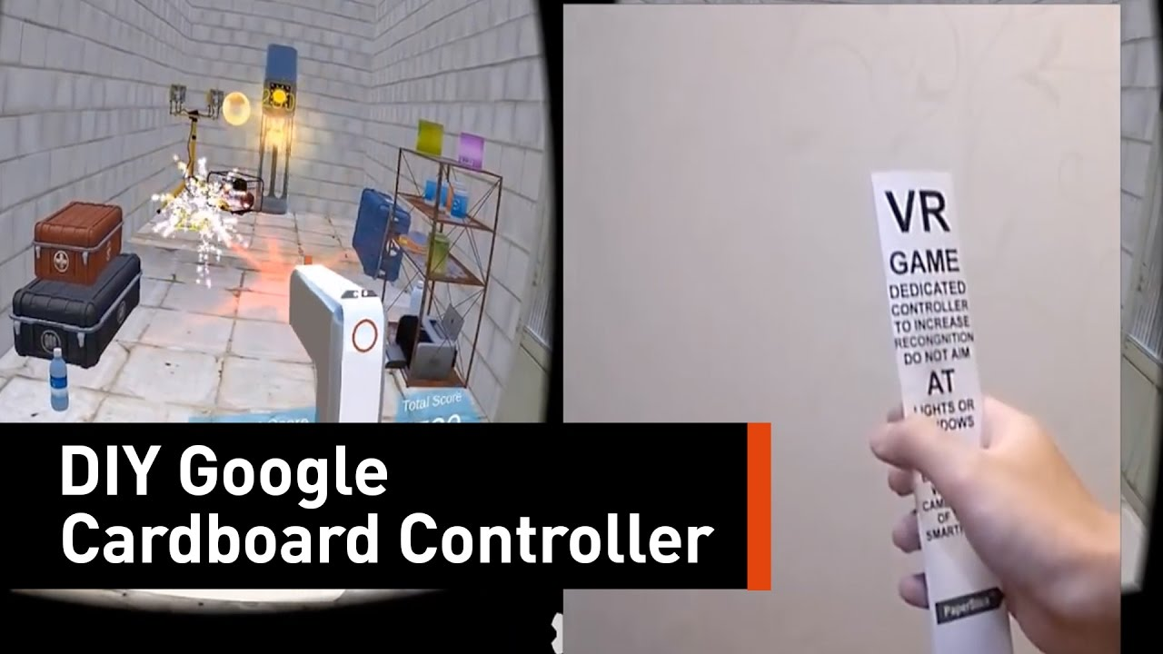 Make Your Own Virtual Reality Controller At Home Youtube
