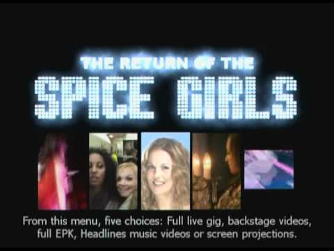 The Return Of The Spice Girls DVD