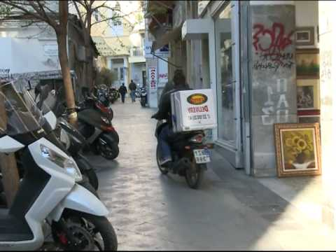 reportage για το παρκάρισμα στο κέντρο της Αθήνας