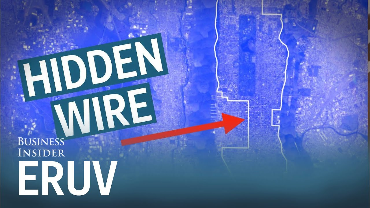 Inside The Lines Eruv Wires Symbolically Extend Homes To