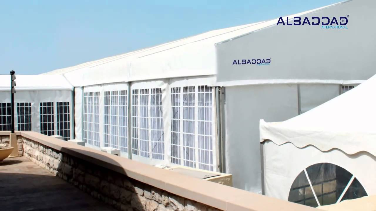 Marquee - Tent - Hotels - AL Baddad International & Marquee - Tent - Hotels - AL Baddad International - YouTube