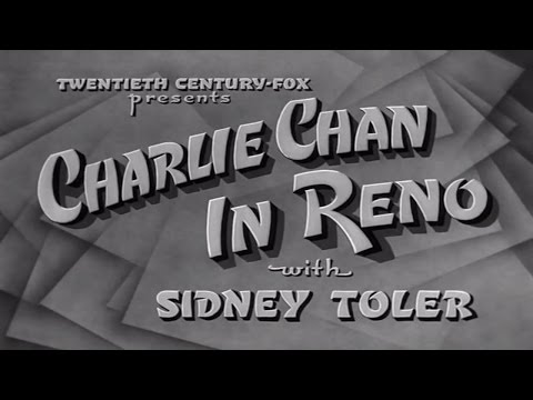 15   Charlie Chan in Reno 1939 Excellent