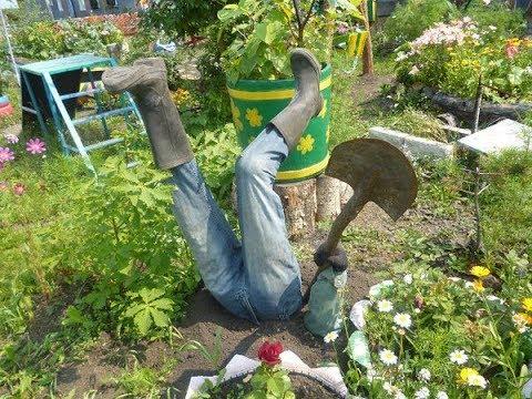 ТОП 50 Идей для сада и огорода своими руками!!!