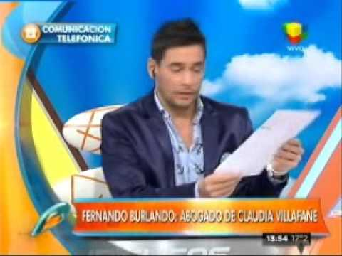 La carta documento de Maradona a Claudia Villafañe