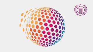 Circle Pixel Logo Design Tutorial Using 3D Revolve Effect in illustrator CS6 | No CorelDraw X6 | X7
