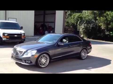 Xo Berlin Wheels 20 Inch On 2010 Mercedes E350 Youtube