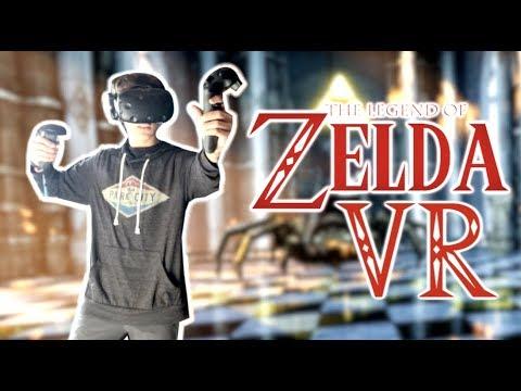 Zelda VR (Beautiful AND Terrifying!)