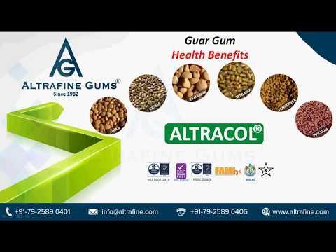 Guar Gum Health Benefits