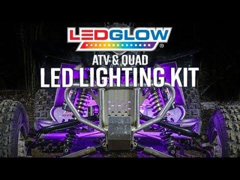 Flex LED strips SMALL Kit RZR ATV LED Xtreme Lighted Undermount Kit