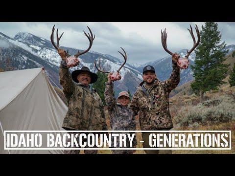 2019 Idaho Backcountry Mule Deer Hunt - GENERATIONS