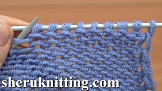 How to Knit the Purl Stitch One Way Tutorial 3 Part 1 of 2 Knitting Basics