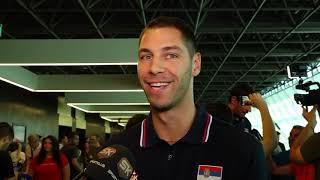 Stefan Jović na Okupljanju Reprezentacije Srbije Pred Mundobasket u Kini   SPORT KLUB Košarka