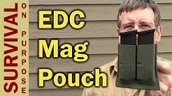 Blue Force Gear 10 Speed Pistol Magazine Pouch Review - EDC Gear