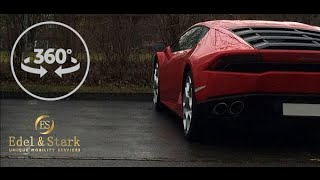 Lamborghini Huracan 360 degree Video by Edel & Stark - Test drive