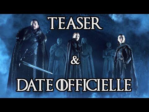 Game of Thrones saison 8 : date officielle et analyse du teaser !