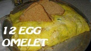 Beths Cafe 12 Egg Omelet Challenge (AS SEEN ON MAN v. FOOD) (ft. Cult Moo!)
