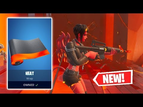 NEW HEAT Wrap Gameplay in Fortnite!