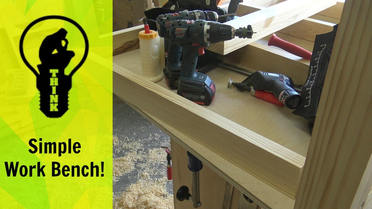 How to Make a Simple Work Bench