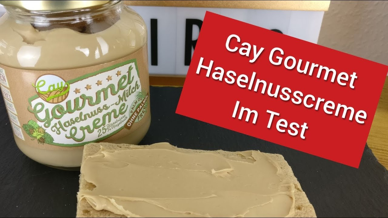 Cay Haselnuss Milch Creme