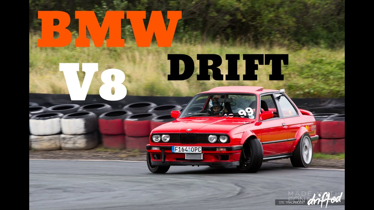 Amazing Bmw Drift Car On Track Youtube