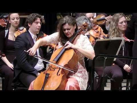 Elgar Cello Concerto  Michaela Fukačová, Marc Soustrot, Odense Symphony orchestra