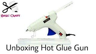 Unboxing Hot Glue Gun And Review | 60W Glue Gun Unboxing