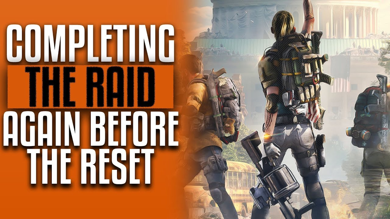 The Division 2 🔴 Gear Grind | Raid Reset Tomorrow | PC Gameplay