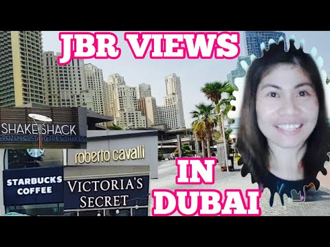 JUMEIRAH BEACH RESIDENCE DUBAI, SURROUNDED BY HIGH END LUXURY BRANDS