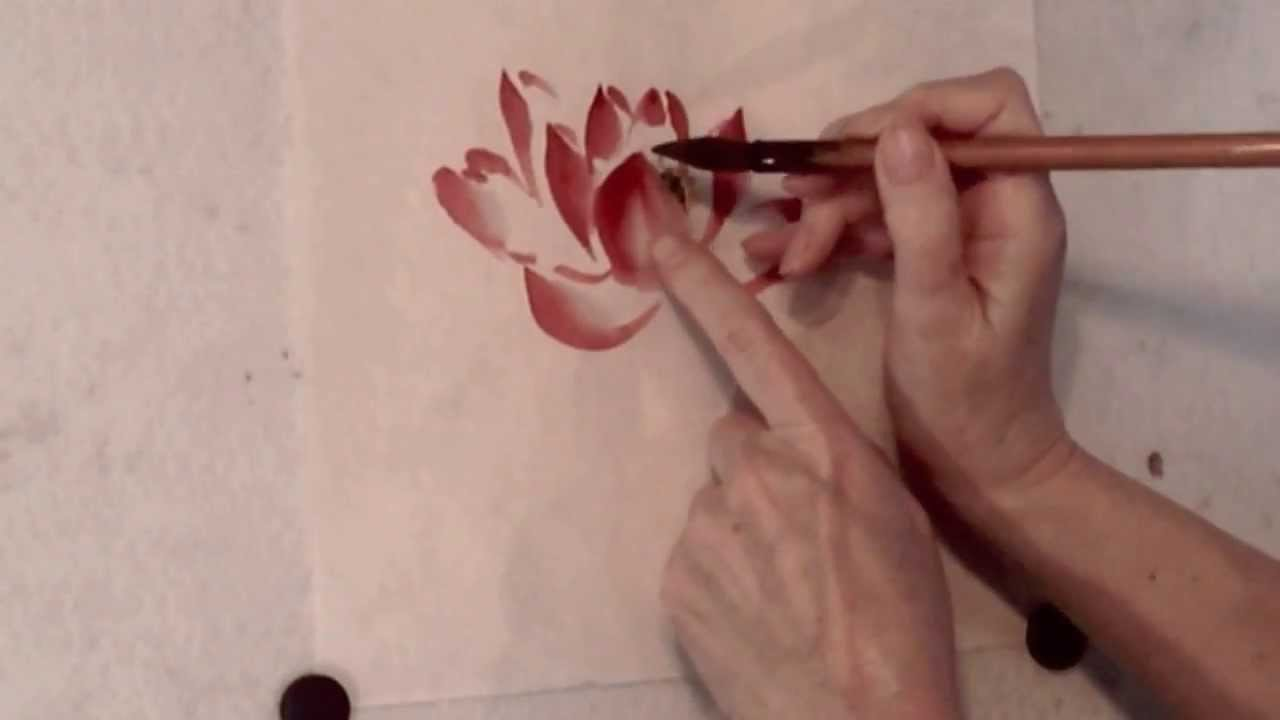 Red lotus flower demo youtube izmirmasajfo