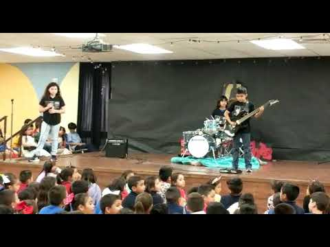 """Zombie"" from The Cranberries, Villareal Elementary School talent show"