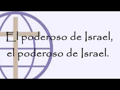 El Poderoso De Israel - Version Claudio Fridzon Letra