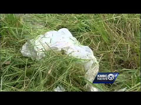 Missouri crews trimming roadside weeds find lots of trash