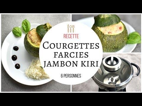 courgettes-rondes-farcies-kiri-jambon-recette-au-cook-expert-de-magimix